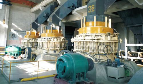 SS Series Short Head Cone Crusher